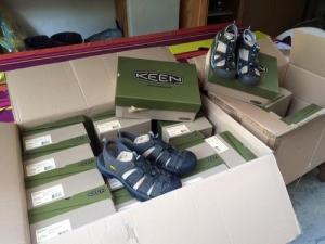 sandales de marche keen
